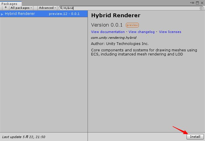 Hybrid.Renderer Package